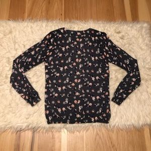 Boden Sweaters - Boden Lightweight Floral Wool Cardigan